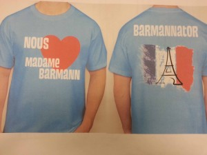 Students Selling T-Shirts To Honor Barmann