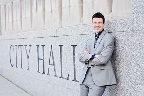 Harris at City Hall