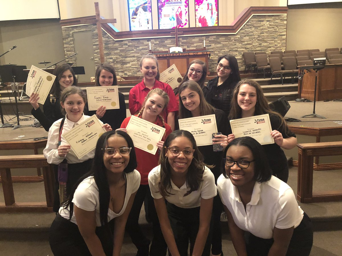 "FCCLA participants at their first competition of the year got to take part in various competing activities, from interior design to fashion construction. All grades, from freshmen to seniors were able to participate. ""It was a good turnout for everyone, especially the freshmen, because it was their first time doing it,"" says senior competitor, Lonyae Coulter. Photo taken by Christian Winn, FCCLA sponsor."
