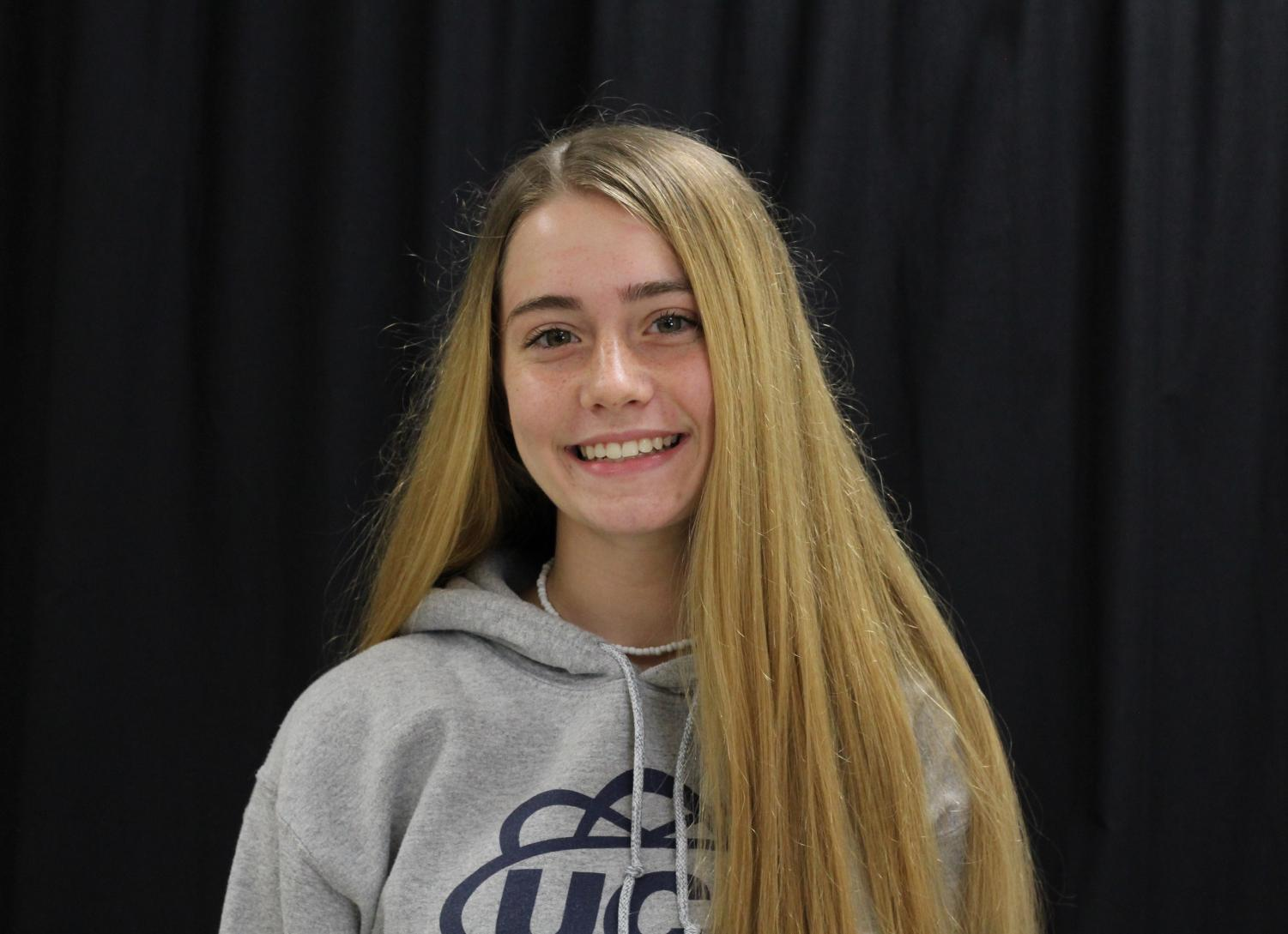 "The Leader of the environmental club is Sophomore Oliva Hutchcraft. She wanted to start the club to help the environment.  ""I want people to learn about why being environmentally friendly is important and how to help others and themselves to be eco-friendlier while helping the community,"" said Hutchcraft."