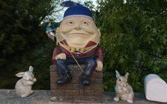 Humpty Dumpty Sat On A Wall...